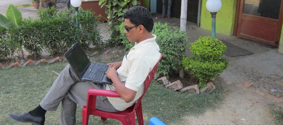 लेखक बन्ना रहरके डगर